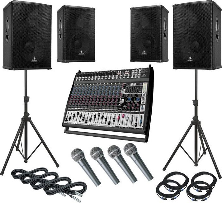 Günlük kiralık ses sistemi